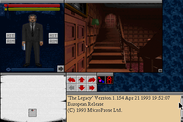 Pantallazo de Legacy: Realm of Terror, The para PC