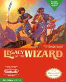 Caratula nº 250381 de Legacy of the Wizard (657 x 900)
