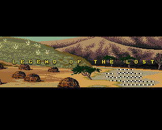 Pantallazo de Legend Of The Lost para Amiga