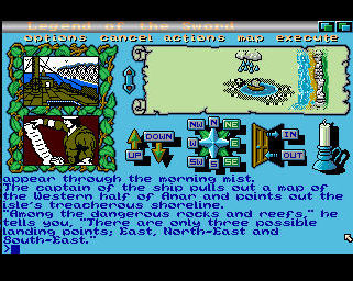 Pantallazo de Legend Of The Sword para Amiga