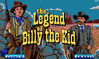 Pantallazo de Legend of Billy The Kid, The para PC