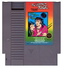 Caratula de Legend of Kage, The para Nintendo (NES)