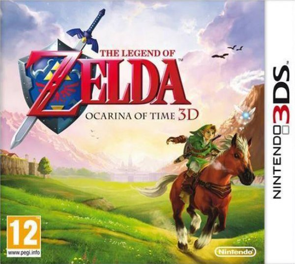 Caratula de Legend of Zelda, The : Ocarina of Time 3D para Nintendo 3DS