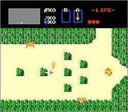 Pantallazo de Legend of Zelda, The para Nintendo (NES)