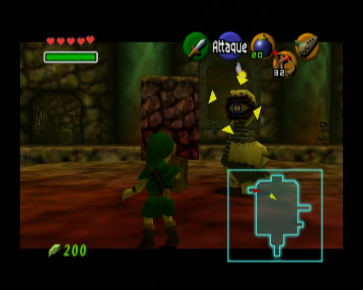 Pantallazo de Legend of Zelda: Ocarina of Time, The (Consola Virtual) para Wii