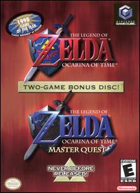 Caratula de Legend of Zelda: Ocarina of Time/The Legend of Zelda: Ocarina of Time -- Master Quest, The para GameCube