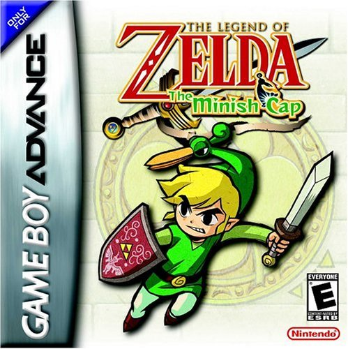 Caratula de Legend of Zelda: The Minish Cap, The para Game Boy Advance