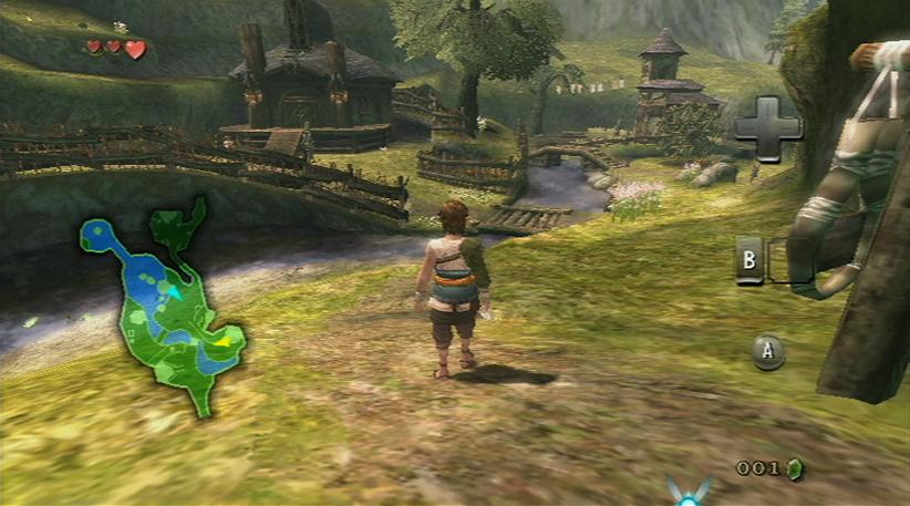 Pantallazo de Legend of Zelda: Twilight Princess, The para Wii