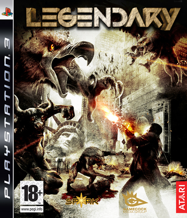 Caratula de Legendary: The Box para PlayStation 3
