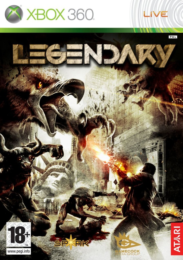 Caratula de Legendary: The Box para Xbox 360