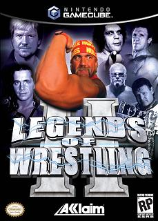 Caratula de Legends of Wrestling II para GameCube