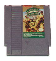 Caratula de Legends of the Diamond para Nintendo (NES)