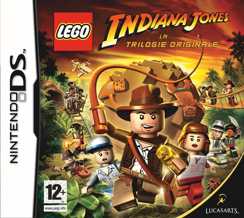 Caratula de Lego Indiana Jones: The Original Adventures para Nintendo DS