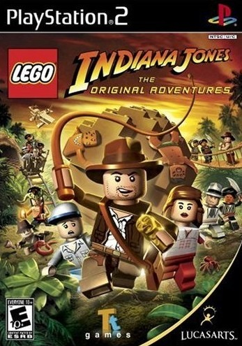 Caratula de Lego Indiana Jones: The Original Adventures para PlayStation 2
