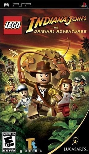 Caratula de Lego Indiana Jones: The Original Adventures para PSP