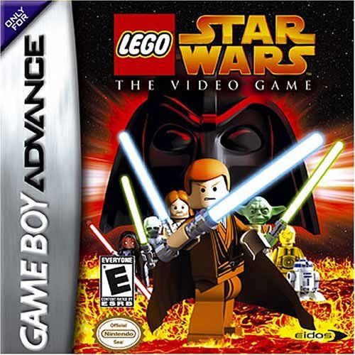 Caratula de Lego Star Wars para Game Boy Advance