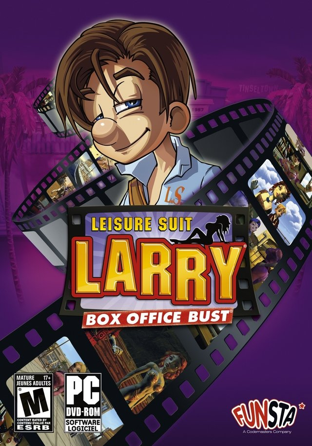 Caratula de Leisure Suit Larry: Box Office Bust para PC