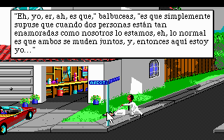 Pantallazo de Leisure Suit Larry Goes Looking for Love (In Several Wrong Places) para PC