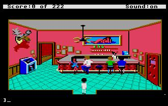 Pantallazo de Leisure Suit Larry in the Land of the Lounge Lizards para Atari ST