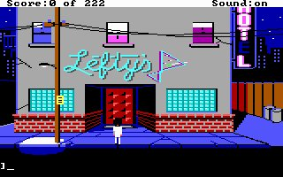 Pantallazo de Leisure Suit Larry in the Land of the Lounge Lizards para PC