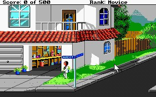 Pantallazo de Leisure Suite Larry Goes Looking for Love! (In Several Wrong Places) para Atari ST