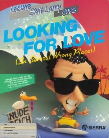 Caratula de Leisure Suite Larry Goes Looking for Love! (In Several Wrong Places) para Atari ST