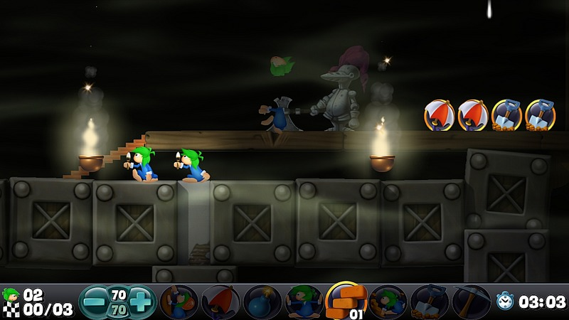 Pantallazo de Lemmings (Ps3 Descargas) para PlayStation 3