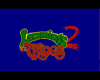 Pantallazo de Lemmings 2: The Tribes para Amiga