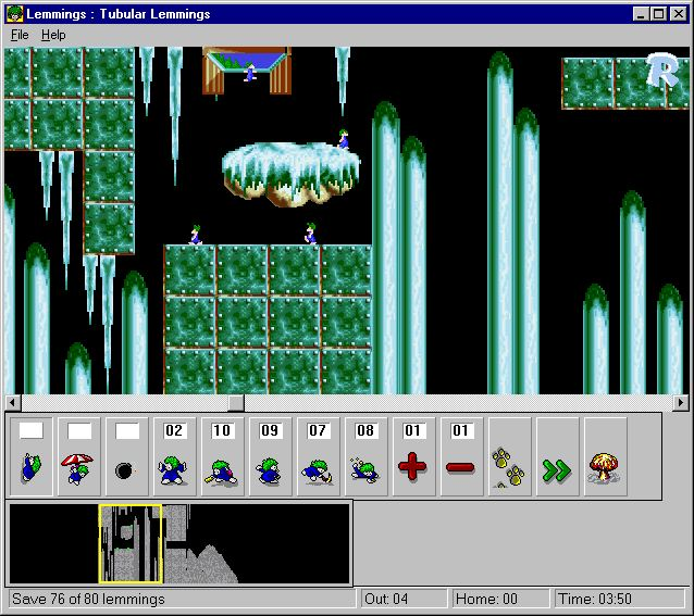 Pantallazo de Lemmings for Windows para PC