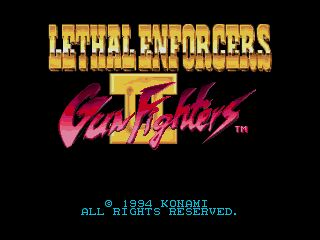 Pantallazo de Lethal Enforcers II: Gun Fighters para Sega Megadrive