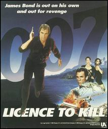 Caratula de Licence to Kill para Commodore 64