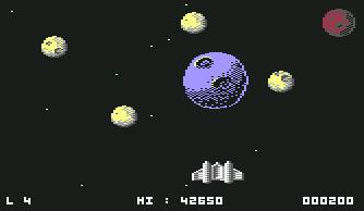 Pantallazo de Light Force para Commodore 64