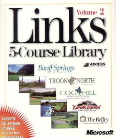 Caratula de Links 5-Course Library Volume 2 para PC