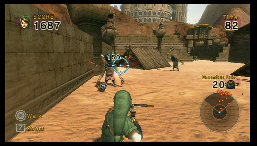 Pantallazo de Links Crossbow Training para Wii