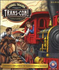 Caratula de Lionel Trains Presents: Trans-Con! para PC