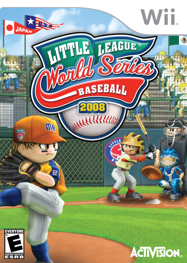 Caratula de Little League World Series 2008 para Wii