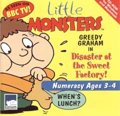 Caratula de Little Monsters: Greedy Graham In Disaster At The Sweet Factory para PC
