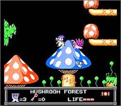 Pantallazo de Little Nemo: The Dream Master para Nintendo (NES)
