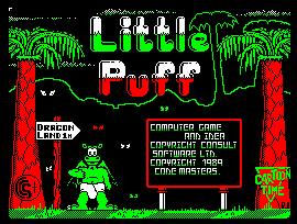Pantallazo de Little Puff In Dragonland para Amstrad CPC
