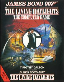 Caratula de Living Daylights, The para Commodore 64