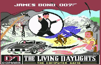 Pantallazo de Living Daylights, The para Commodore 64