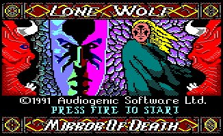Pantallazo de Lone Wolf: The Mirror Of Death para Amstrad CPC