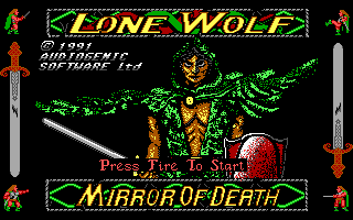 Pantallazo de Lone Wolf - The Mirror of Death (a.k.a. Tower of Fear) para PC