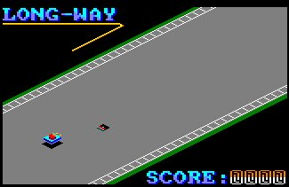 Pantallazo de Long-Way para Amstrad CPC