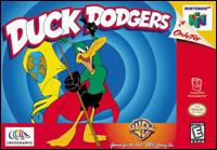 Caratula de Looney Tunes: Duck Dodgers Starring Daffy Duck para Nintendo 64