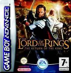 Caratula de Lord of the Rings, The: The Return of the King para Game Boy Advance