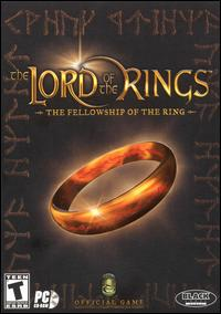 Caratula de Lord of the Rings: The Fellowship of the Ring, The para PC