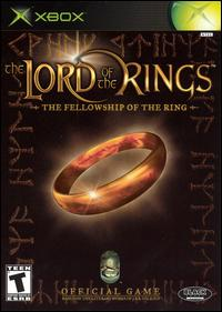 Caratula de Lord of the Rings: The Fellowship of the Ring, The para Xbox