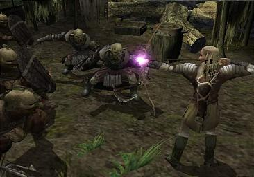 Pantallazo de Lord of the Rings: The Two Towers, The para GameCube