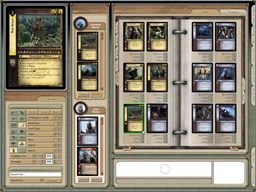 Pantallazo de Lord of the Rings Trading Card Game: Online, The para PC